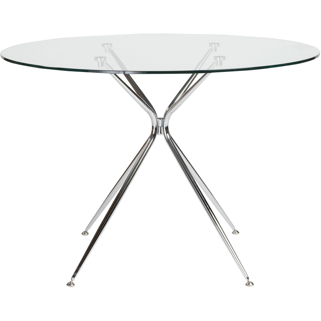 ATOS 42-INCH ROUND DINING TABLE - Fast Ship Furniture