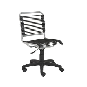Bungie Low Back Armless Office Chair - Fast Ship Furniture