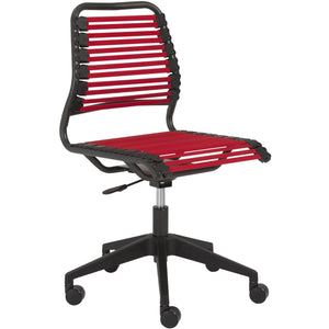 BABA FLAT LOW BACK OFFICE CHAIR - Fast Ship Furniture