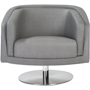 Cassius Swivel Lounge Chair - Fast Ship Furniture