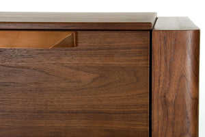 Modrest Codex Modern Tobacco Veneer Chest of Drawers