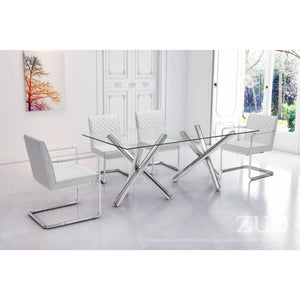 Zuo Stant Rectangular Dining Table