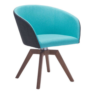 Zuo Wander Blue/Gray Dining Chair