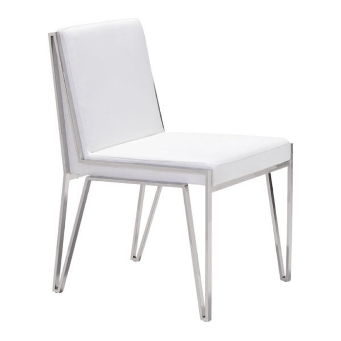 Zuo Kylo White Dining Chair