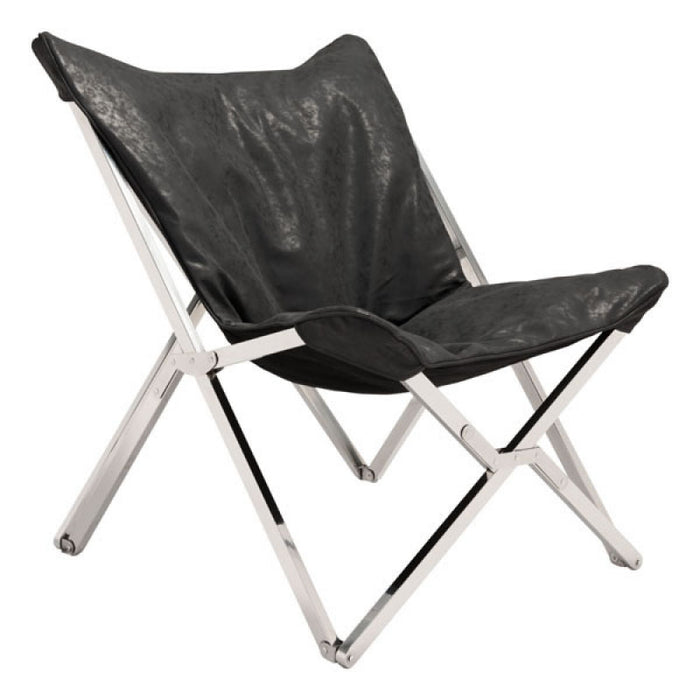 Zuo Sunk Chair Black