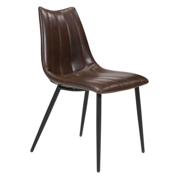 Zuo Norwich Brown Dining Chair