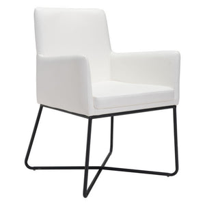 Zuo Axel White Dining Chair