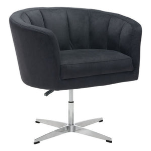 Zuo Wilshire Occasional Chair Black