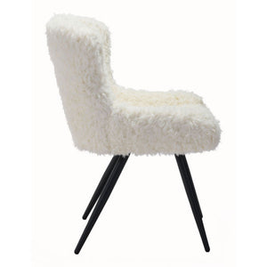 Coco Dining Chair Ivory - Fast Ship Furniture