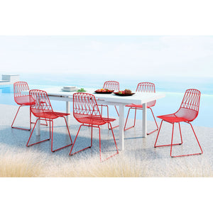 Zuo Brody Red Dining Chair