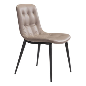 Zuo Tangiers Taupe Dining Chair