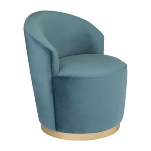 Zuo Zoey Arm Chair Green Velvet