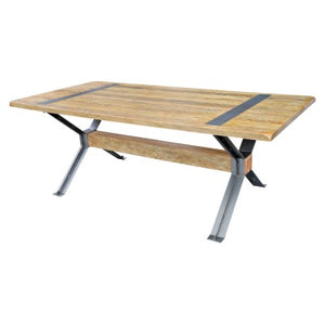 Marcello KD Dining Table, Rustic Indigo