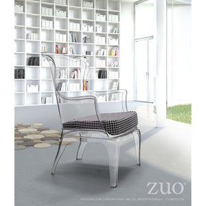 Zuo Vision Cushion Houndstooth
