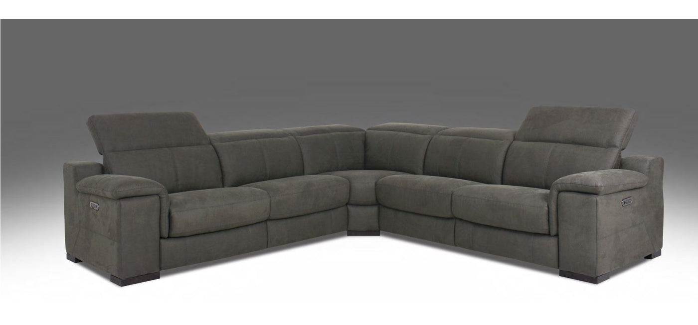 Htl Power Reclining Sectional See Now At Our Bay Area Furniture Store