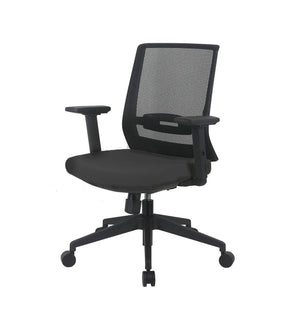 Fiona Office Chair with Adjustable Arms