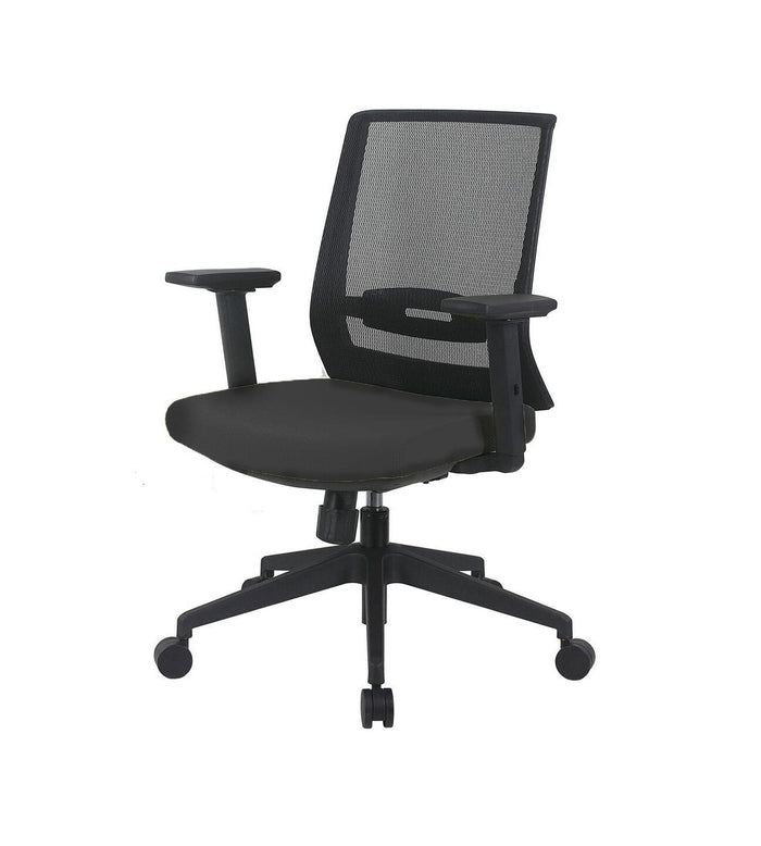 Fiona Office Chair with Fixed Arms
