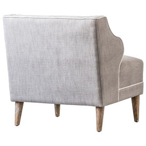 Rochelle KD Fabric Chair, Putty