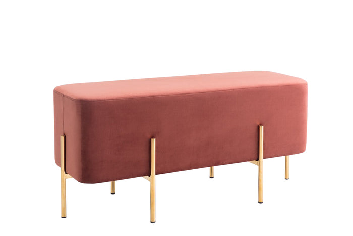 Modrest Ranger Modern Copper Fabric Bench