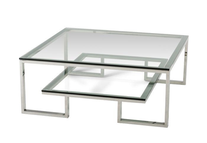 Modrest Topaz Modern Glass Coffee Table