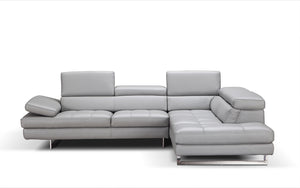 A761 Italian Leather Sectional * (CURRENTLY ON SHOWROOM FLOOR)