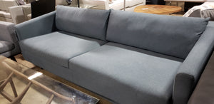 Scandinavian Design Modernista MD1128 Blue Fabric Sofa (FLOOR MODEL - MUST PURCHASE FROM SHOWROOM)