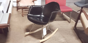 Eames Style ROCKING CHAIR FIBER GLASS CH6135 (FLOOR MODEL - MUST PURCHASE FROM SHOWROOM)