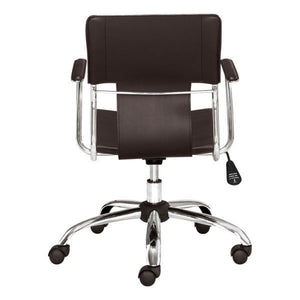 Zuo Trafico Office Chair Espresso