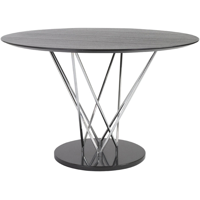 EURO STYLE STACY ROUND DINING TABLE