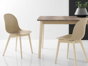 Connubia Calligaris CB/1665 Academy W Dining Chair