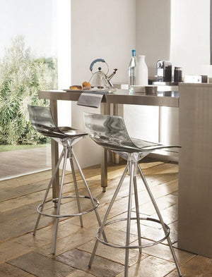 Connubia Calligaris CB/1270 L'Eau Bar Stool