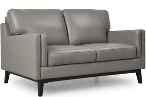 Moroni 352 Osman Leather 2 Seater Loveseat * (CURRENTLY ON FURNITURE SHOWROOM FLOOR)