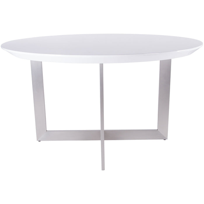 EURO STYLE TOSCA 54-INCH ROUND DINING TABLE