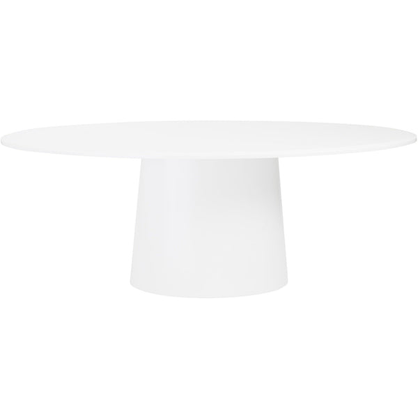 DEODAT 79-INCH OVAL DINING TABLE - Fast Ship Furniture