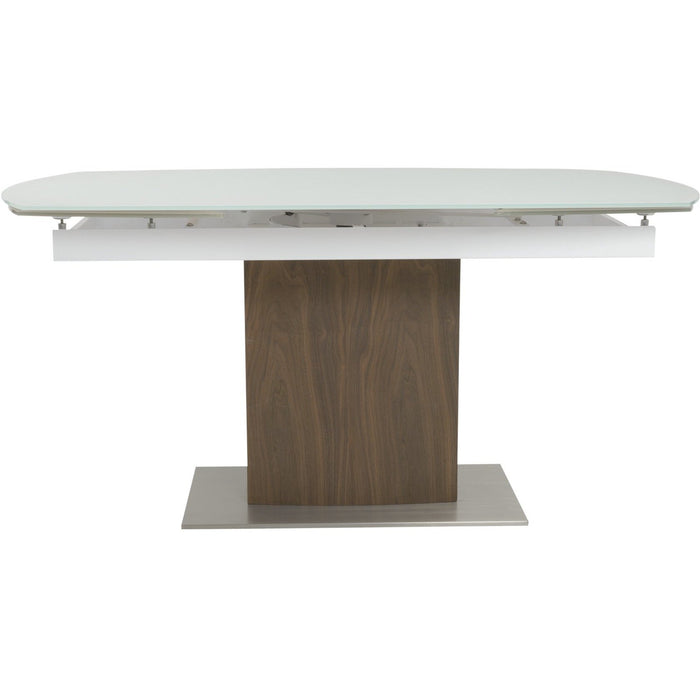 EURO STYLE AYANA 95-INCH EXTENSION DINING TABLE