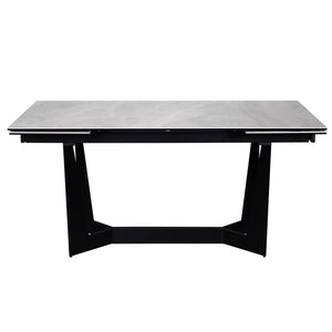 "Euro Style Mateo 95"" Extension Dining Table"
