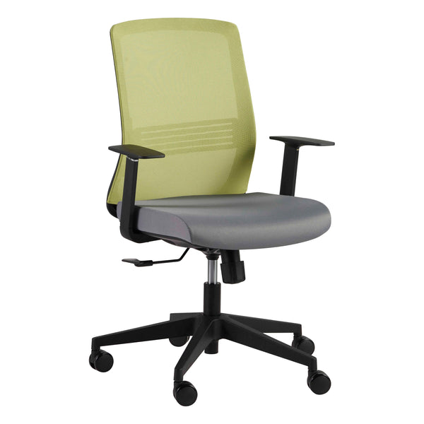Spiro Office Chair with Adjustable Arms - Fast Ship Furniture