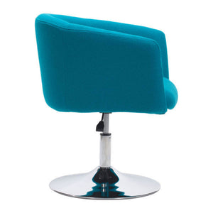 Zuo Umea Arm Chair Island Blue