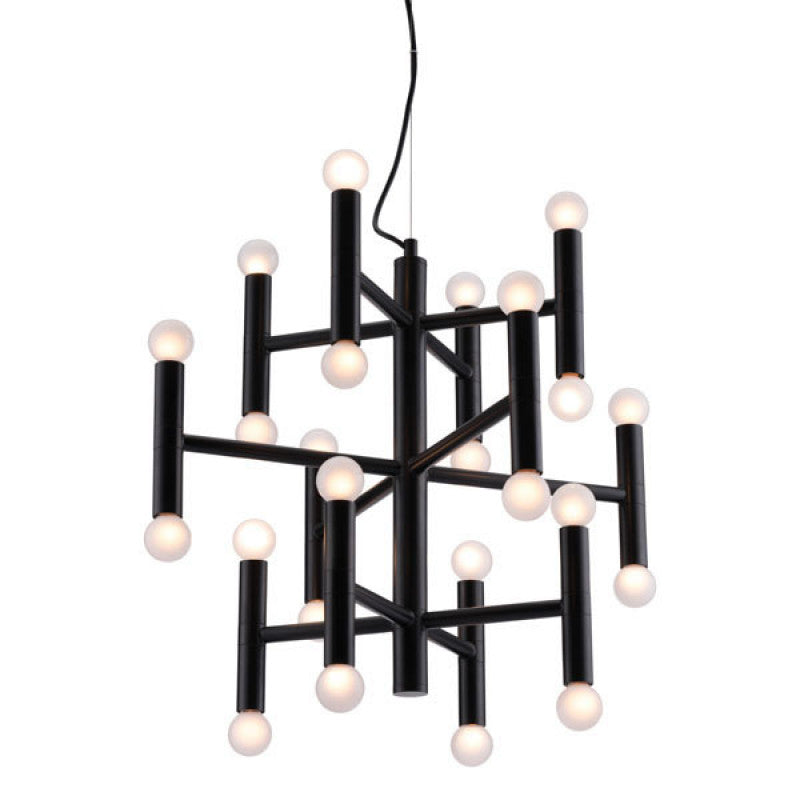 Zuo Modern Alton Ceiling Lamp Black