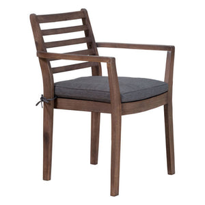 Zuo Sancerre Natural & Gray Dining Chair