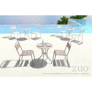 Zuo Oh Taupe Dining Chair