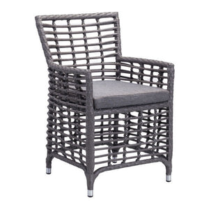 Zuo Sandbanks Gray Dining Chair