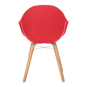 Zuo Tidal Red Dining Chair