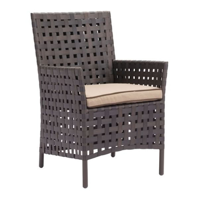 Zuo Pinery Brown & Beige Dining Chair