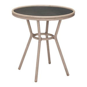 Zuo Marseilles Bistro Dark Brown Outdoor Dining Table