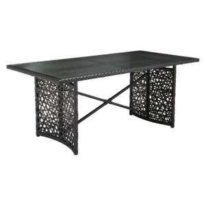 Zuo Santa Cruz Terra Brown Outdoor Dining Table