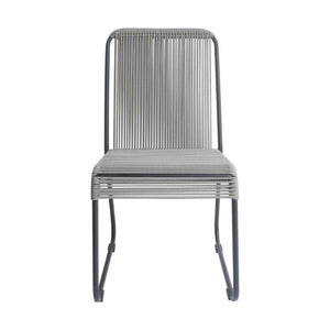 Zuo Drew Black & Dark Gray Dining Chair