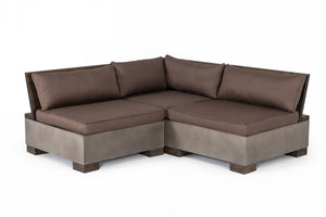 Modrest Delaware - Modern Concrete Large Sectional Set -Square
