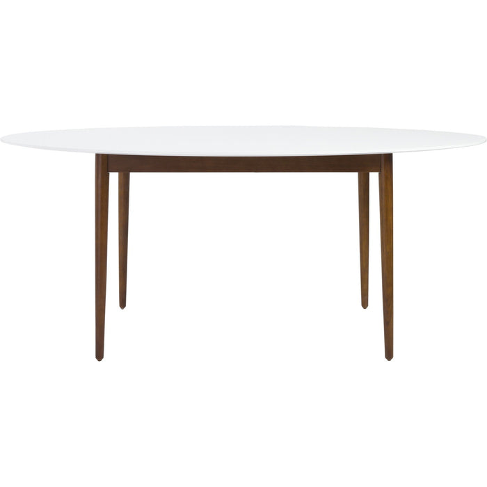 EURO STYLE MANON OVAL DINING TABLE