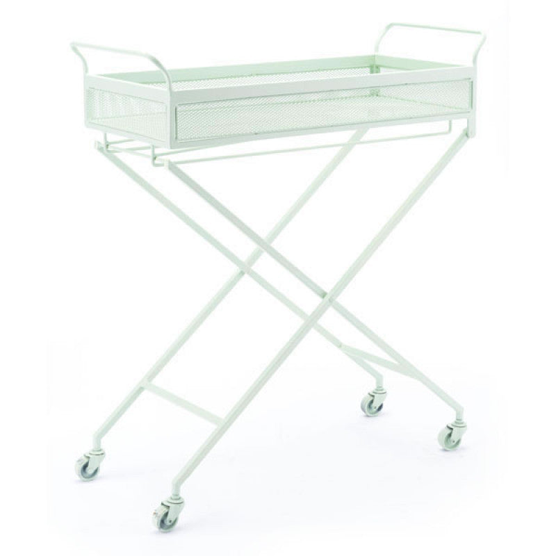 Zuo Modern Mint Bar Cart Green